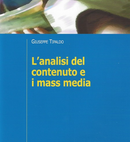 "Book cover ""Analisi del contenuto e i mass media"""